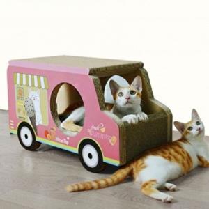 pet 스크래처 아이스크림트럭 고양이 장난감 놀이터
