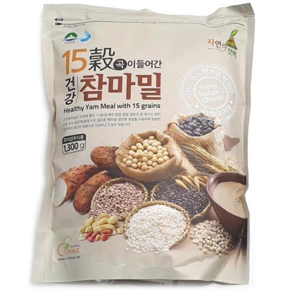 건강선식 15곡참마밀 1.3kg 건강선식 참마밀