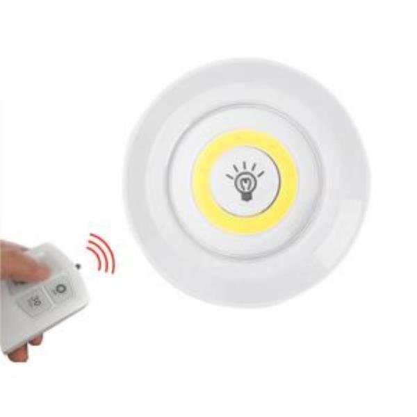 [KC인증] 터치등 리모콘 원형 LED 무드등 1P DD-10013