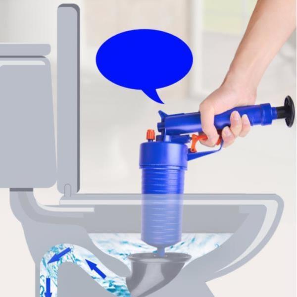변기 세면대 싱크대 막힘 청소 수동식 뚫는법 배관 청소집게 공기 압축 변기 하수구 피스톤 뚫어뻥