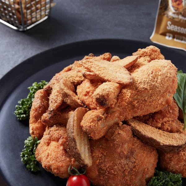 하이몰 NEW 마법의 치킨가루 4봉 카레맛 치킨파우더