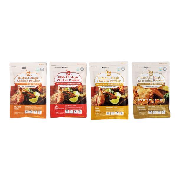[하이몰] NEW 마법의치킨가루 혼합4봉 치킨파우더