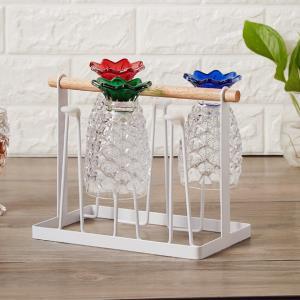컵걸이 내담쇼핑몰 틈새 인테리어 주방 컵홀더 물받이 컵정리대 거치대 조리도구걸이 다용도 스틸 컵걸이 1color