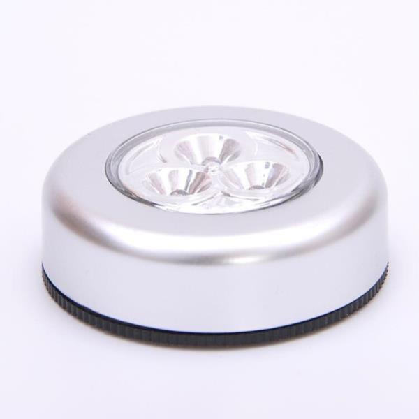 부착식 3구 LED 터치 라이트