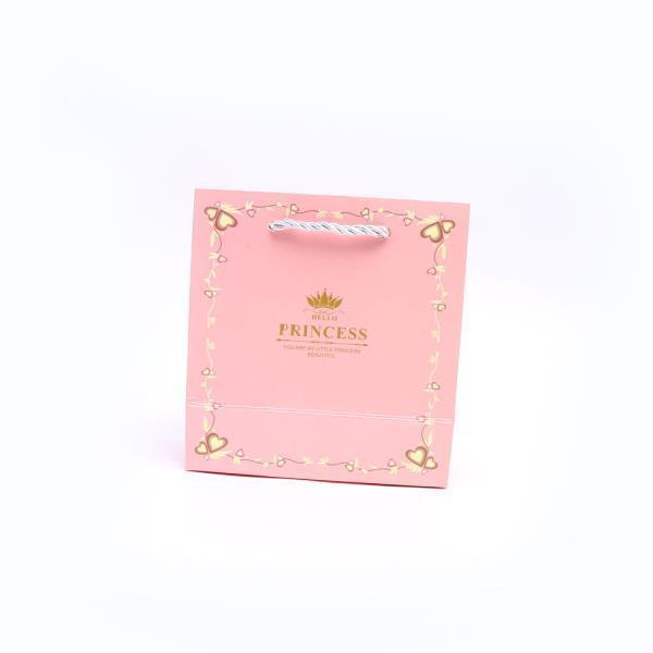 왕자와공주 선물 쇼핑백 핑크 S