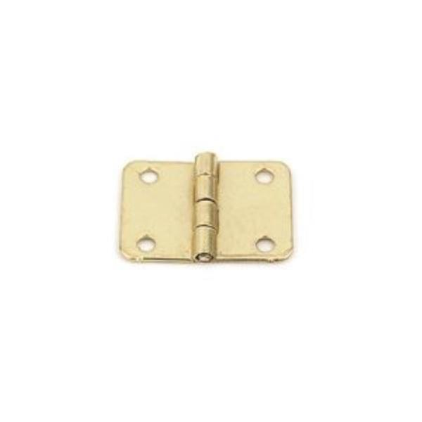 장식경첩 DT 21x15 신도(신주도금) (3550)