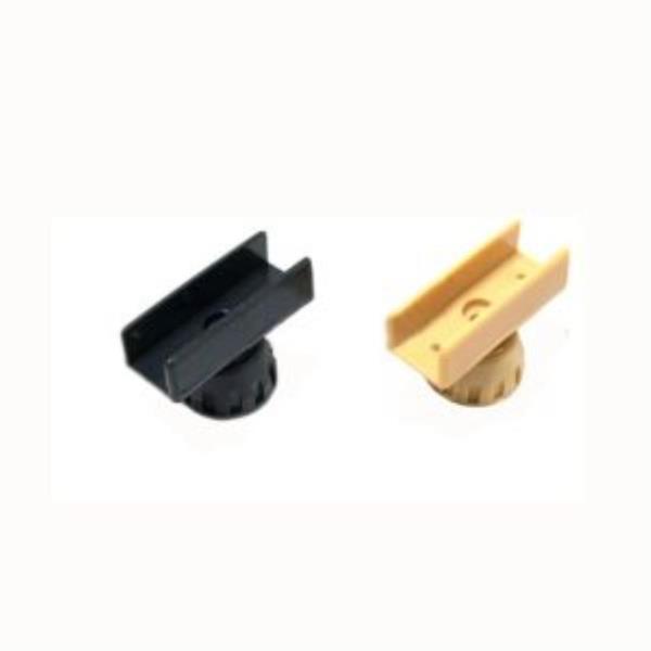 ㄷ자조절발세트 PVC 15mm 색상선택 높이조절 (595)