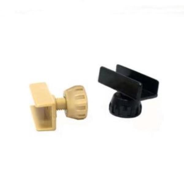 ㄷ자조절발세트 PVC 18mm 색상선택 높이조절 (588)