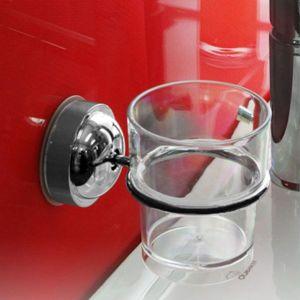 컵걸이(컵포함) 딸깍설치 욕실용품 다용도걸이(1041)
