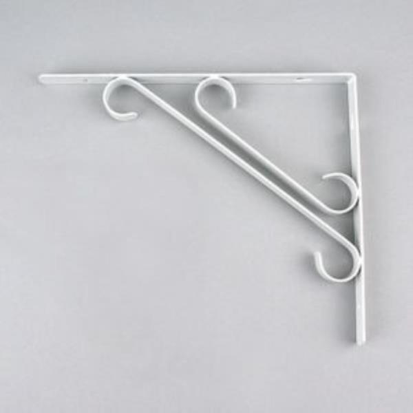 선반대 두줄S 백색 규격선택 선반 진열대 철물(3344)