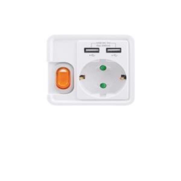 멀티탭 USB충전콘센트 1구 개별7289