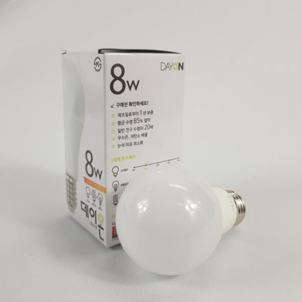 안정기 내장형 LED전구  E26 8W