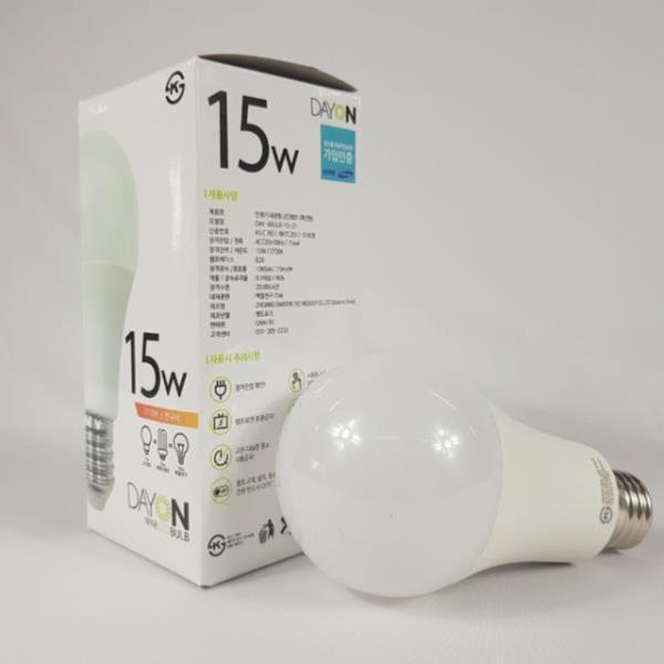 안정기 내장형 LED전구 15W E26