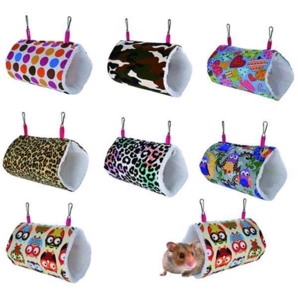 해먹 햄스터 스윙 침대 터널  작은동물 놀이터 그네