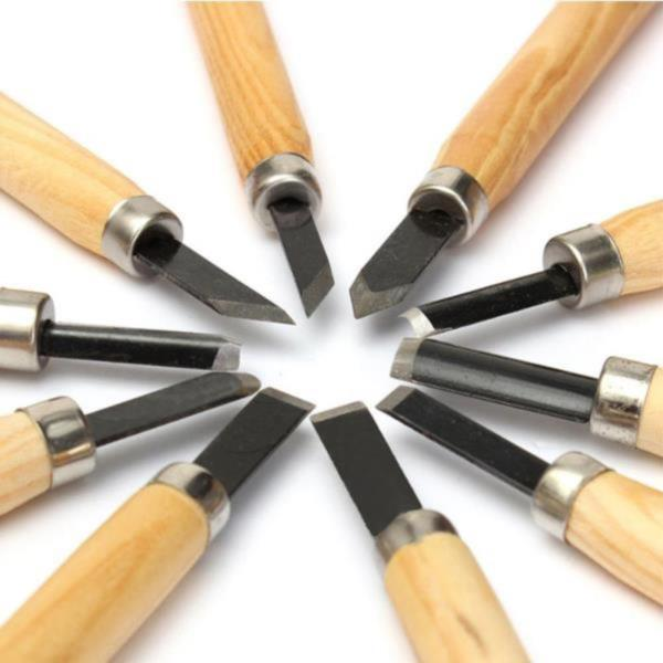 조각도세트 나무 치즐 나이프 커팅 DIY 목공 공예 칼