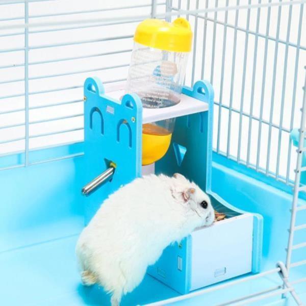 소동물 햄스터 사료통 먹이통 밥그릇 식기 드링크 물병 거치대 물통 미포함
