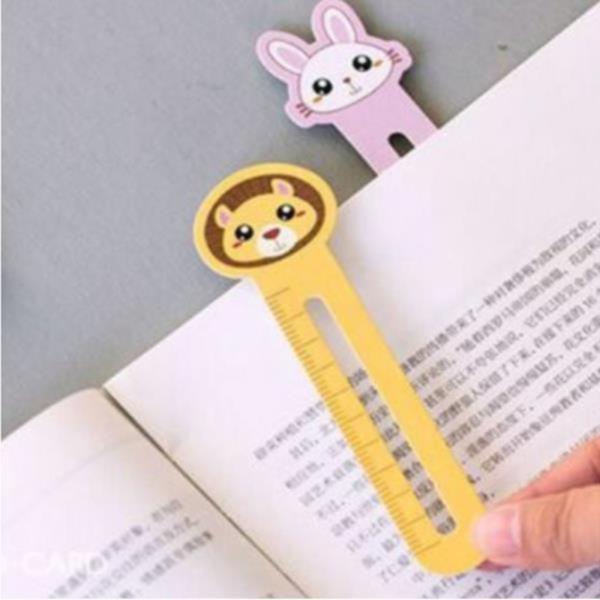 30pcs 북마크 동물 종이 눈금자 책갈피 책 클립 마커