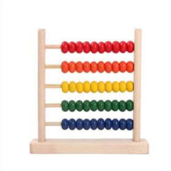 나무주판 장난감 교구 학습 숫자놀이 주산 산수