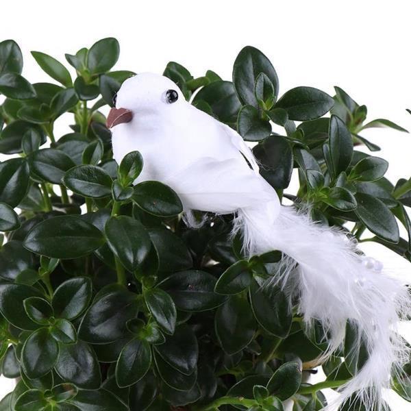 비둘기 새모형 인테리어 키덜트 마이크로 조경 DIY