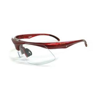 siena 스포츠고글 0103R red/clear
