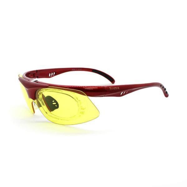 siena 스포츠고글 0103R red yellow
