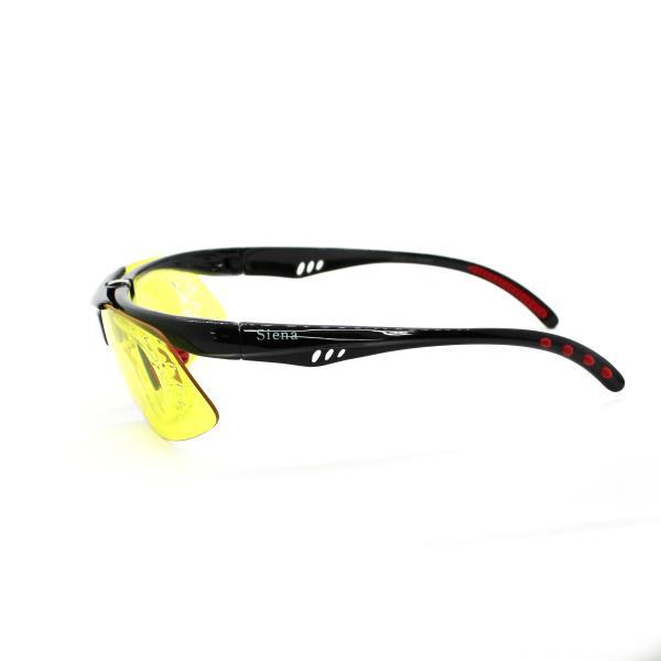 siena 스포츠고글 0103R black yellow