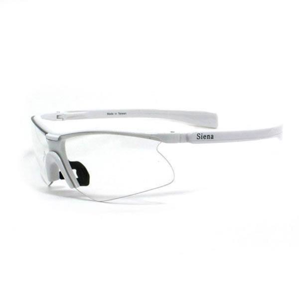siena 스포츠고글 03051 white clear