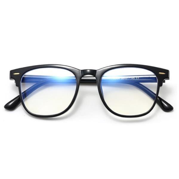 블루라이트차단 베이직 뿔테 안경