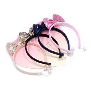 [퀸즈스타일] 귀걸이리본머리띠/귀염뽀짝/인기상품