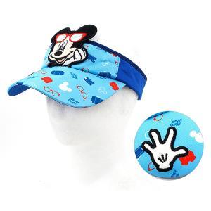 미키마우스 트래블 썬캡-블루