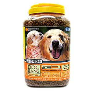 도그랑 강아지 애견 사료 골드(통/자견용) 2kg