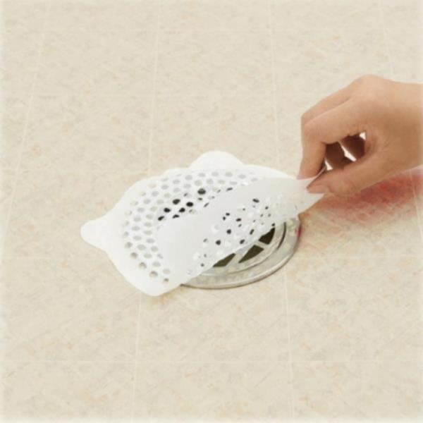 욕실 배수구 스티커 (지름 15cmX12개입)