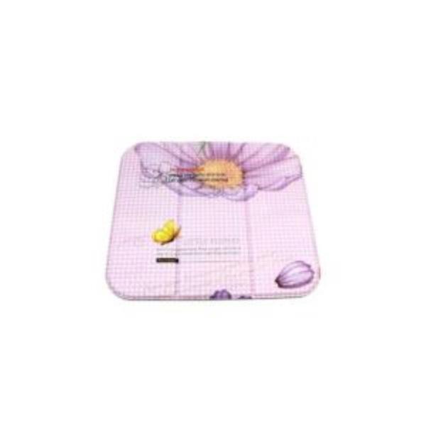 3단 접이식 미니매트 목욕탕방석-무늬랜덤발송