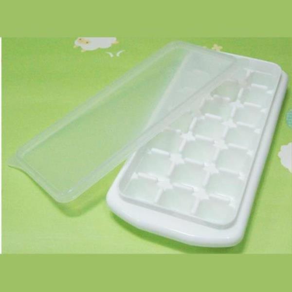 뚜껑 얼음트레이 21조각 제빙기 얼음틀 아이스트레이