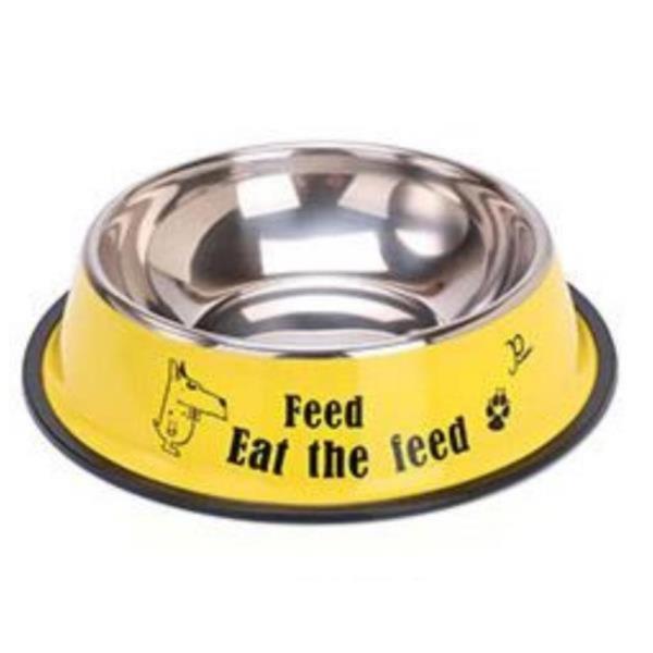대형견 강아지 고양이 스테인레스 미끄럼방지 라지사이즈 밥그릇 사료식기 물그릇