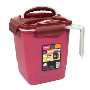 3L 손잡이 음식물 쓰레기통 음식물통 음식물처리 욕실