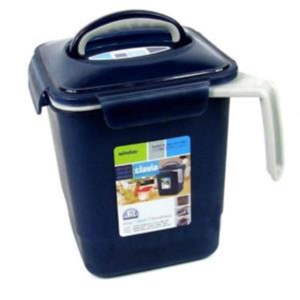 4.5L 손잡이 음식물 쓰레기통 싱크대음식물 잔반통