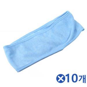 민자 찍찍이 헤어밴드-색상랜덤x10개 예쁜아기밴드