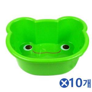 어린이용 귀여운 동물 목욕대야-랜덤발송x10개