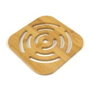 대나무 원형 사각 냄비받침대 다용도받침 뜨거운냄비