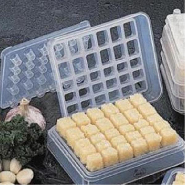 양념 마늘 냉동보관 트레이 다진마늘보관용기 얼음