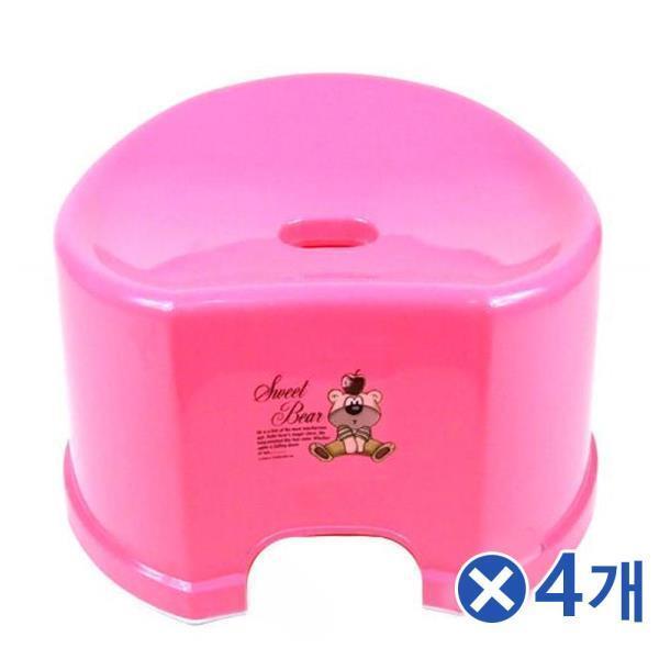중형 바스 목욕의자-색상랜덤x4개 욕실발받침대
