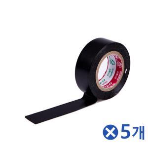 10m 전기테이프 블랙x5개 케이블정리 배선정리용품