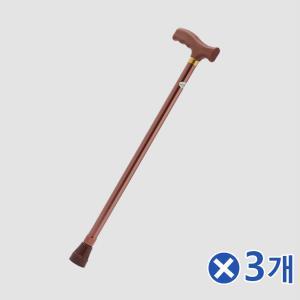 미끄럼방지 가벼운 어르신 지팡이x3개 효도지팡이