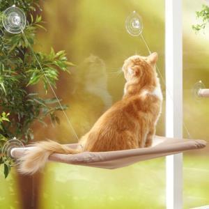 창문에 설치하는 흡착식 고양이 해먹 애묘해먹