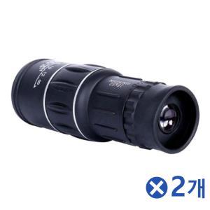이중조절 16배율 레저용 망원경 단망경 단안경 2개