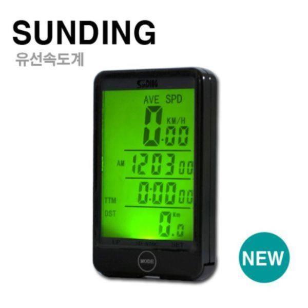SD 대형화면 백라이트기능 유선 속도계