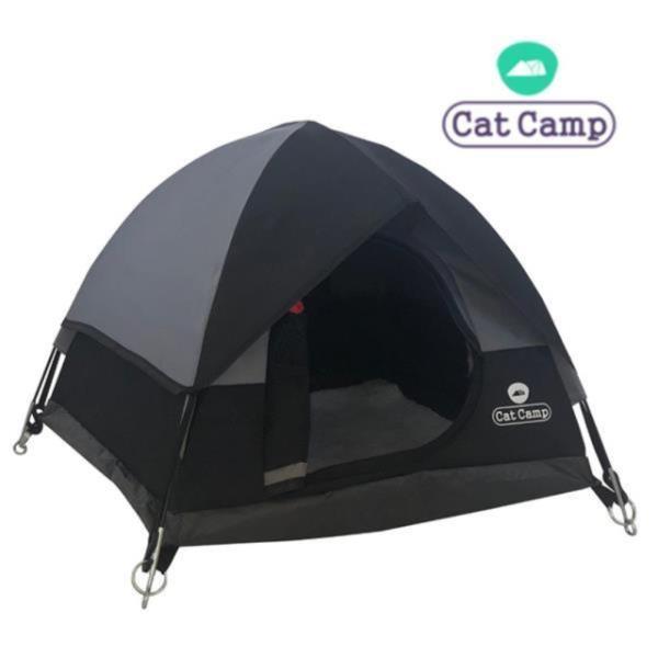 캣캠프 캣텐트 블랙-고양이하우스/강아지집