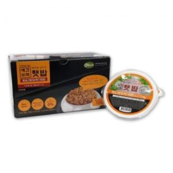 전연령용 레토르트 홈메이드 소고기 수제사료 햇밥 강아지 습식사료 120그램X6