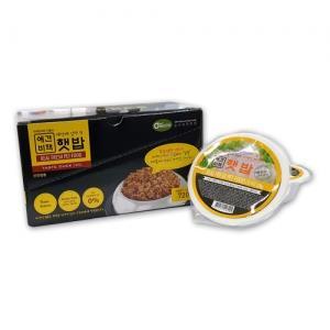 전연령용 레토르트 홈메이드 오리 수제사료 햇밥 강아지 습식사료 120그램X6